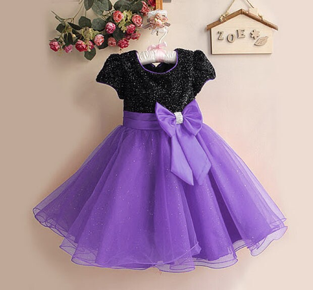 2015 New kids patchwork tulle dresses Girls Dress Hot Pink Top Grade Layered Girl Clothes Princess Party Wear Children Clothes(China (Mainland))
