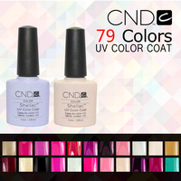 Free Shipping 73 Colors Available New Arrival CND SHELLAC Soak Off UV Led Nail Gel Polish