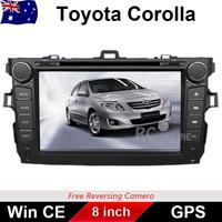 8.0 inch Car DVD PLAYER GPS Radio Stereo head unit For TOYOTA COROLLA 2006-2011 IPOD/Bluetooth/MP3/Win CE 6.0/DVD