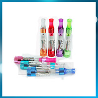 New rainbow clearomizer colorful crystal drip tip rebuildable atomizer e-cigarette cartomizer for CE4 CE5 ego 510 battery