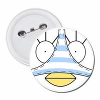 Badge Elizabeth with Underwear Brooch Pin Anime Cosplay Type B