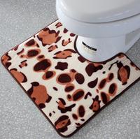 Washable shower room bathroom floor mat toilet closestool rugs foot pad 50*50cm free shipping