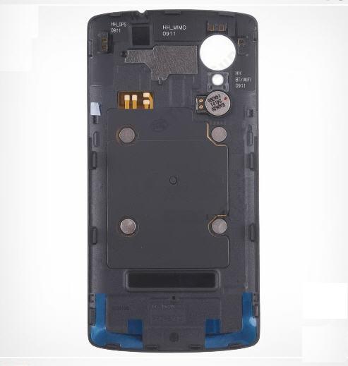 Original para LG Google Nexus 5 D820 bateria Back Door tampa da caixa caso + vibrador OEM - preto(China (Mainland))