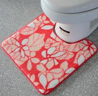 Household Washroom closetool rugs bathroom floor mat toilets cushion 50*50cm free shipping