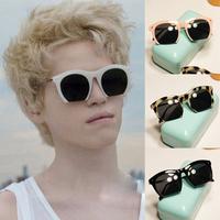 Women's Stylish Half Metal Frame 4 Colors Sunglasses UV 400 Protecton EyewearFree&Drop Shipping