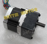 4-Lead NEMA34 Reduction Gearbox stepper Motor,66mm,4A Gear ratio 1:15