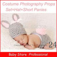2014 Fashion Newborn Animal Designs Crochet Knitting Caps Baby Handmade Knitted Costume Set Photography Props Hats