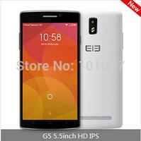 Original Elephone G5 Mobile Phone 5.5 inch IPS 1280*720 MTK6582 Quad Core 1GB RAM 8GB ROM Dual Camera 13.0MP GPS Bluetooth Z#
