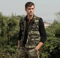 Hot Spring Autumn New 2014 Vintage Casual Camouflage Military Vest Men Outdoor Multi Pocket Fishing Vest Sleeveless Jacket B2313