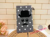 new fashion canvas bag women card holder