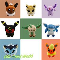 8pcs/lot 13cm New 2014 Pokemon Plush Dolls Minion Stuffed Animal Toys Lovely Kids Toys Gifts For Kids 8 Colors Free Shipping