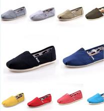 Zapatos de lona unisex zapatos planos perezosos 35-45(China (Mainland))