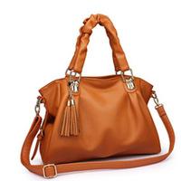 2014 The new lady bag fashionable tassel PU bag shoulder bag
