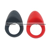 Wholesale 6 Pcs/Lot Man Sex Products Delay Ejaculation Vibrating Cockring Popular Rechargeable Penis Ring RE-007
