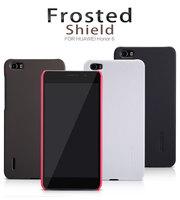 Original Nillkin Case for Huawei Honor 6 5 Colors Super Plastic Matte Case + Screen Protector Film, Free shipping