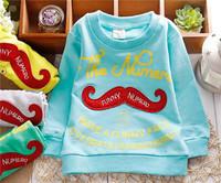 spring unisex boys girls regular hoody active sporty cotton baby children sweatshirts KT270R