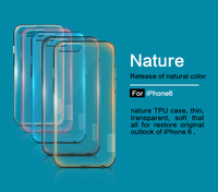 "New Genuine Nillkin Nature TPU Soft Crystal Case Skin Back Cover For Apple Iphone 6 I6 Iphone 4.7"""