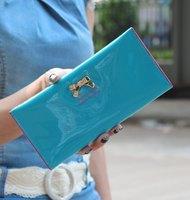 High Quality PU Leather Women Wallet Cute Bow Slim Long Wallets Diamond Cross Pattern Clutch Lady Cute Change Purse,1pcs/lot