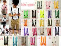 Suspenders 1PC New Mens Womens Unisex Clip-on Suspenders Elastic Y-Shape Adjustable Braces Colorful