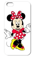 1 pic new skin design Minnie Mouse case hard back cover for iphone4  4s 5g  5s 5c free shipping
