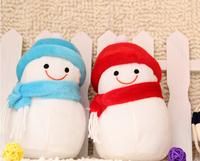 26cm Merry Christmas Home Decoration New year arvore natal Tree Rag Doll Children Toy Snowman Santa Claus Ornament navidad Gifts