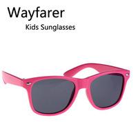 Wholesale Fashion Classic Kids Gifts Wayfarer Sunglasses Girls Boys UV Protection Eyewear