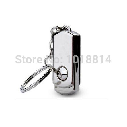 hot! metal super mini swivel usb 64gb pendrive 64gb Rotation usb flash drive usb key 64gb(China (Mainland))