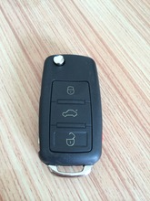 3B Folding Remote Key For VW Tounreg 315MHZ Fit For USA Model With Logo Free Shipping