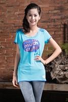 Free shipping Best seller Printed T-shirts 100% cotton T-shirts China Wholesale Women leisure T-shirt