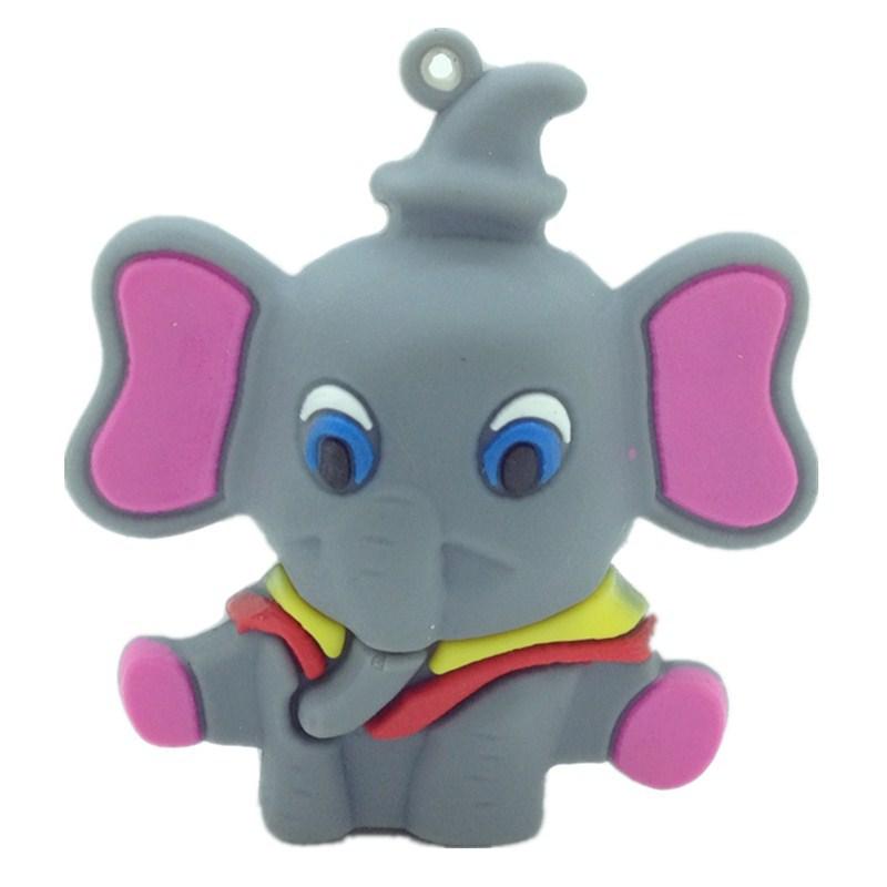 u disk Elephants animal usb flash pen drive 4gb 8gb 16gb 32gb 64gb flash usb memory stick pen drives gifts disk(China (Mainland))
