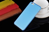 Hot Selling ! 10 Designs Matte Frosted Ultra thin 0.3mm PP Back Cover Case For Apple iPhone 6 iPhone6 4.7''