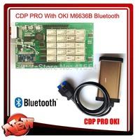 cdp oki tcs cdp pro oki chip with cdp oki bluetooth M6636B free shipping