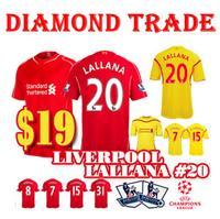 2014/15 Soccer Jersey GERRARD Home Red STURRIDGE Black STERLING Shirt 2015 COUTINHO MARIO BALOTELLI Jersey 14/15 Away 13 14 15