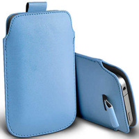 2014 Free Shipping 13 Colors Pull Up Rope Slim PU Leather Pouch phone bags cases For Nokia 930 Lumia 830 1020