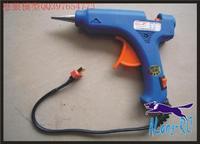 free shipping :3S 12v 30W GLUE GUN  whit  5pcs glue stcik  for repair  RC plane or  DIY  RC model