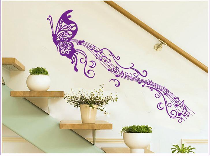 P 250 rpura de la mariposa notas habitaci 243 n rom 225 ntica boda pegatinas de