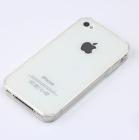 Ultra Thin 0.3MM Transparent Crystal Clear Soft Rubber TPU Silicon Cover Phone Cases For iphone4s For iphone 4 Case