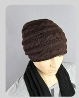 2014 New Knitting Winter Wool Brand Beanies Hip Hop Warm Hats / Gorros / Bonnets for Fashion Men Women wool caps