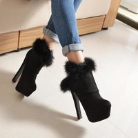 Free shipping  HOT  new  Fashion Comfortable sexy women's boots  women  designer Suede Winter High-heeled women  boots