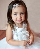 crown jewelry 2 colours  elastic  headband  kids hair bows Girls' hair accessories 10pcs/lot