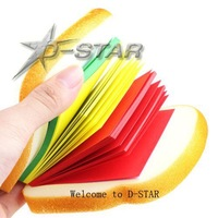 Free Shipping 12pcs Creative Notes Delicious Sandwich Image School Office Stationery Memo Notepad 3 Colors Pads Memo Pad