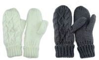 Fashion Ladies' Winter Knitted Gloves Mittens,Free Shipping