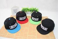 1PCS free shipping new Korean hat / hip-hop hip-hop hat / flat brimmed baseball cap