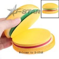 Free Shipping 12pcs Creative Notes Delicious Hamburger Image School Office Stationery Memo Notepad 3 Colors Pads Memo Pad