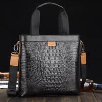 Hot seller! 2014 New genuine Leather Men's handbags Messenger Briefcase Bags Men fashion Shoulder Bag 2012-27