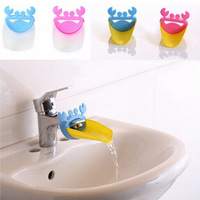 Cartoon Crab Faucet Extender For Kid Children Kid Hand Washing In Bathroom Sink
