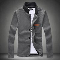 Mens Fashion Big Size Casual Autumn Jacket Size M-5XL,2014 New Arrive Brand Sports Jacket Outwear
