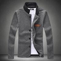 Mens Fashion Big Size Casual Autumn Jacket Size M-5XL,2014 New Arrive Brand Sports Jacket Outwear