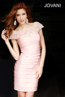 RCD 98292 Latest Fashion! sheath high neck cap sleeve sleeveless pink short homecoming dresses 2014