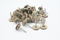 20mm x 4mm x 3mm 120# Grit 3mm Diameter Shank Mounted Flap Wheel Brush 100Pcs Free shipping
